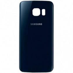 Vitre arriere Samsung Galaxy S6 Edge Noir