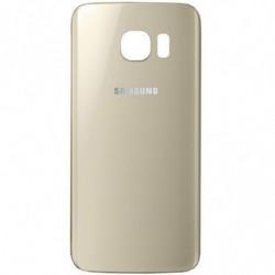 Vitre arriere Samsung Galaxy S6 Edge Or