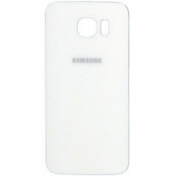 Vitre arriere Samsung Galaxy S6 Blanc