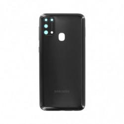 Vitre arriere Samsung Galaxy M31 noir